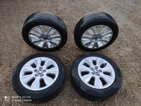 Jak nowe felgi z oponami Skoda Audi VW Seat 5 x 100