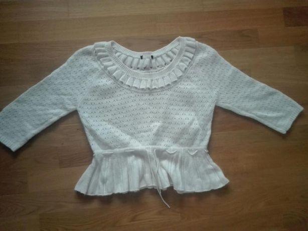 Sweterek biały 38