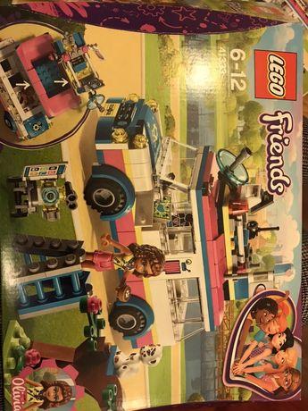 Lego 41333 Furgonetka Olivii bardzo atrakcyjny i kolorowy