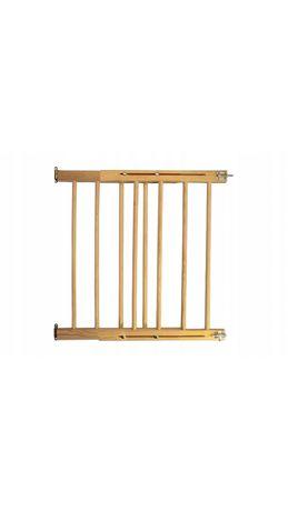 Drewniana bramka ochronna na schody