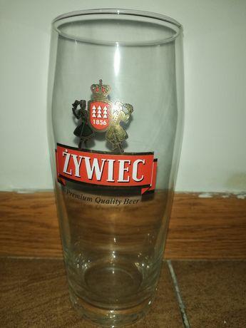 Pokal, szklanka Żywiec
