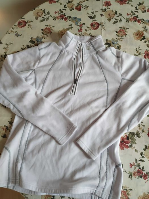 Bluza polar sportowy bialy Stargard - image 1