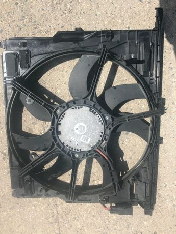 Bmw 7 f01 730d 3,0d wentylator chłodnicy stan bdb 600w