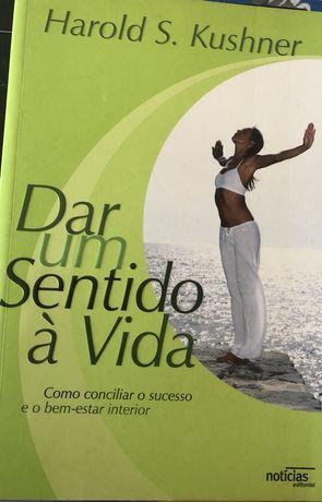 "Livro ""Dar um sentido à vida""- Harold Kushner"