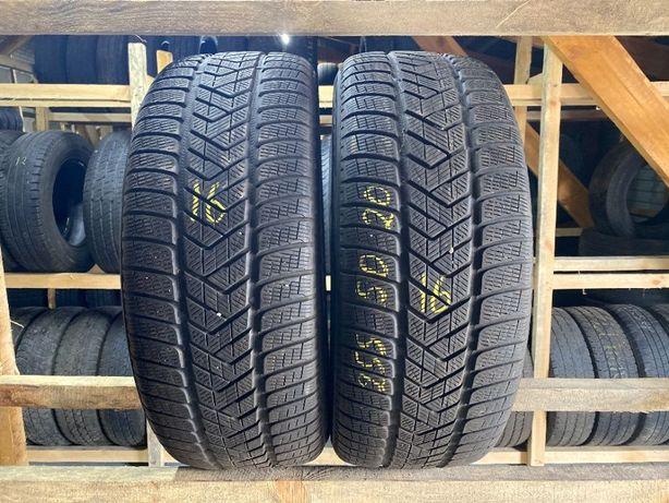 Шини зимові бу 255/50R20 Pirelli Scorpion Winter 6.5мм 2шт 16рік