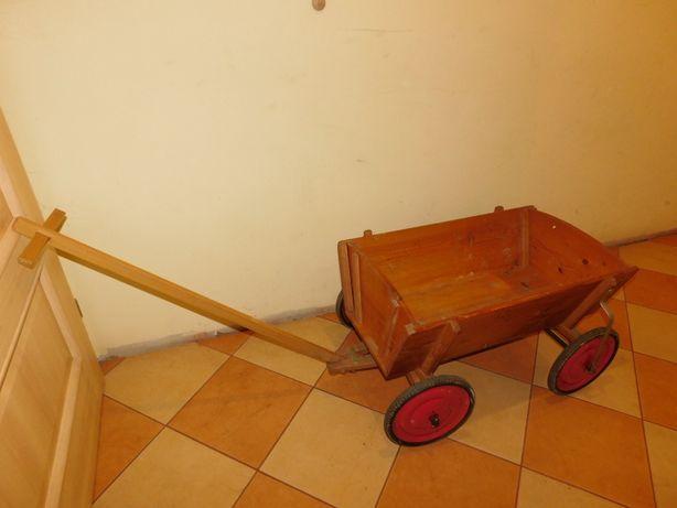 Wózek do ciągnięcia XXL ogrodowy transportowy dla dzieci