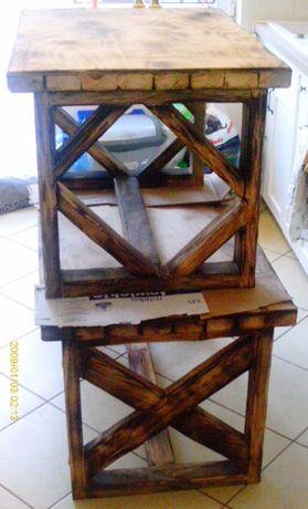 Stolik ława stylizowana/zamienie