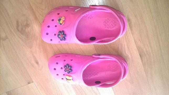 Buty typu crocs , crocsy dl wkladki 18 -18,5 cm