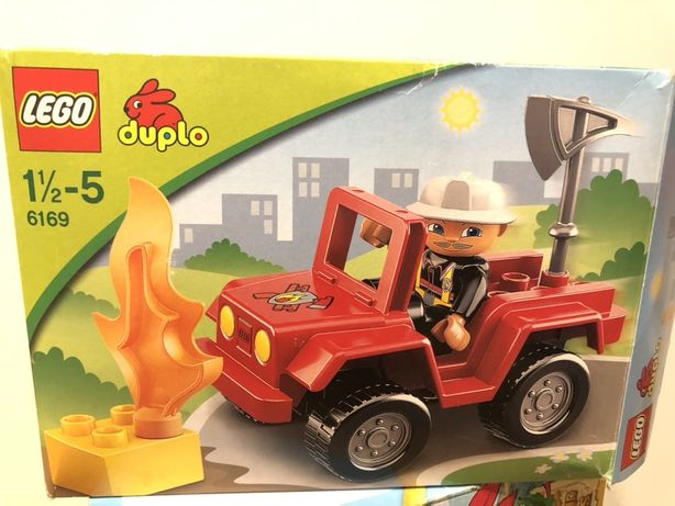 Lego Duplo 6169 Dowódca straży pożarnej
