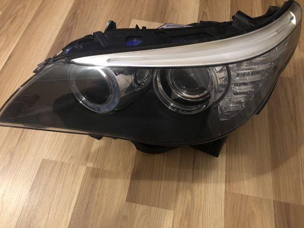 Lampa przednia lewa BMW E60 lift