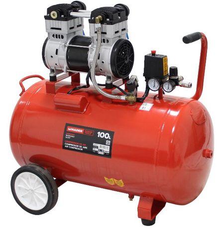 MEGA CAMPANHA!! Compressor de Ar 100L 2HP Silencioso VEJA O VIDEO!!!
