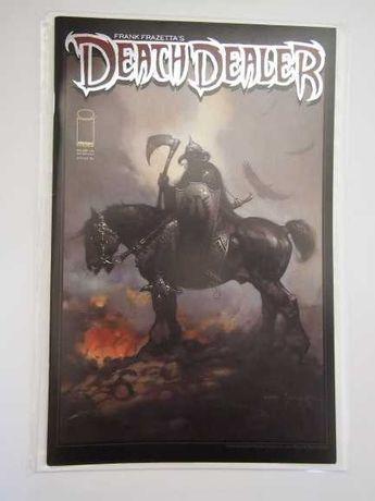 Death Dealer comics - Editora Image (Frank Frazetta)
