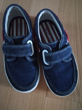 Джинсовые кроссовки , макасины,тапочки(15.5) Adidas кожа/сеточка 26,27