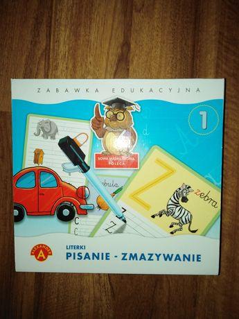 Zabawka edukacyjna pisanie - zmazywanie