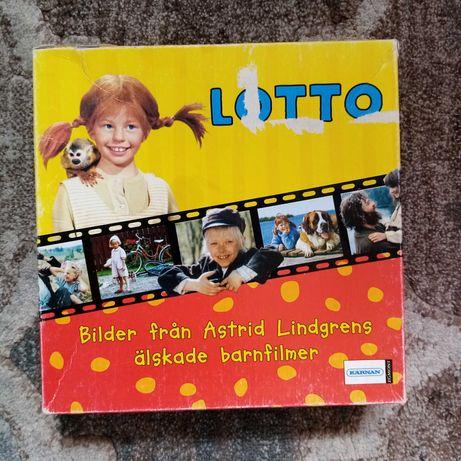 Gra LOTTO Astrid Lindgren szwedzka