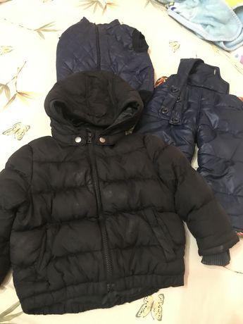 Пакет вещей куртки штаны на год-1,5-2