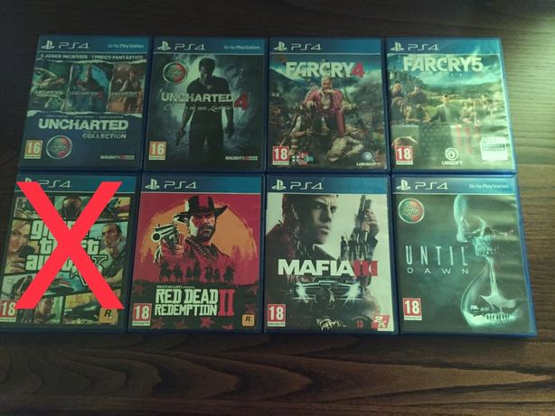 Jogos Playstation4 (PS4)