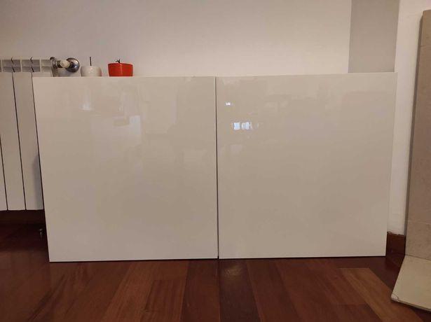 Móvel BESTA IKEA 120x40x64 branco c/ portas