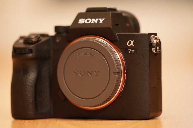 Sony a7 III, stan bardzo dobry