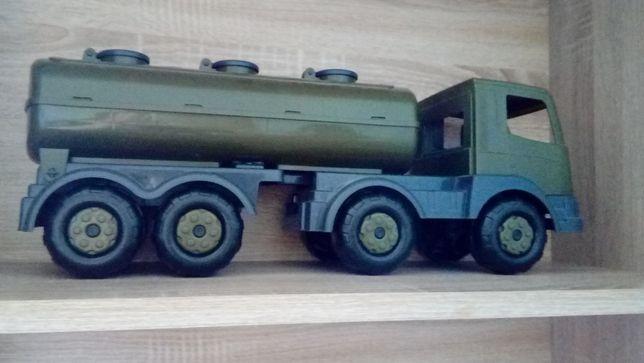 Zabawka Mega Auto wojskowe dla chłopca