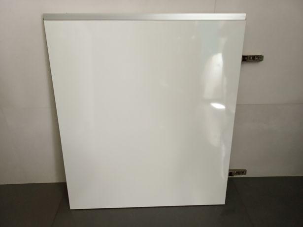 Porta para armário com acabamento laminado branco brilhante