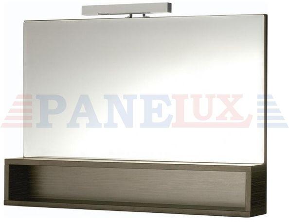 Lustro łazienkowe półka Cersanit Frida zebrano Classic 600 S525-013