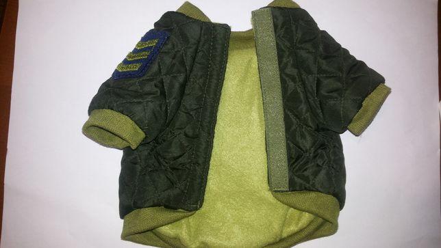 Зимняя курточка для собаки р. S