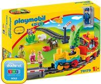 Playmobil 1 2 3 Moja Pierwsza Kolej 70179 brak 1 el.