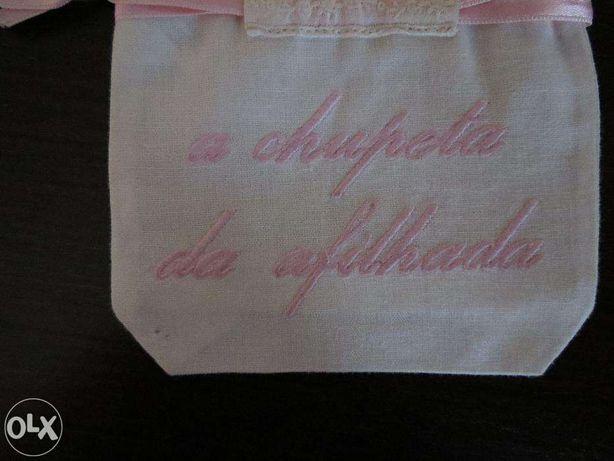 Bolsa Chupeta afilhada rosa