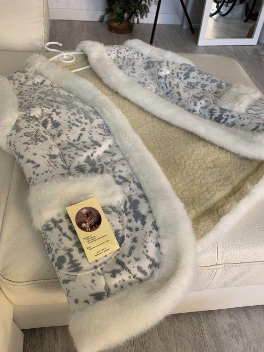 Жилет из овечьей шерсти с опушкой Одесса - изображение 1
