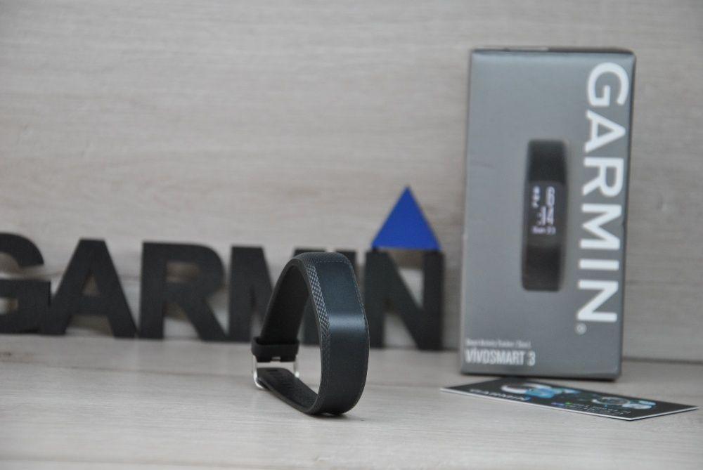 Часы спортивные фитнес браслет Garmin Vivosmart 3 Black Запорожье - изображение 1