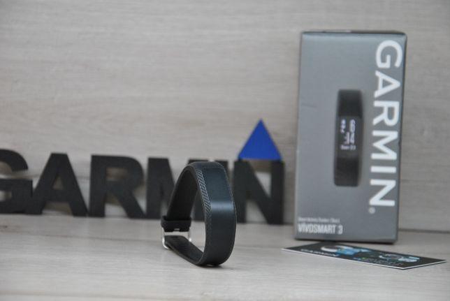 Часы спортивные фитнес браслет Garmin Vivosmart 3 Black