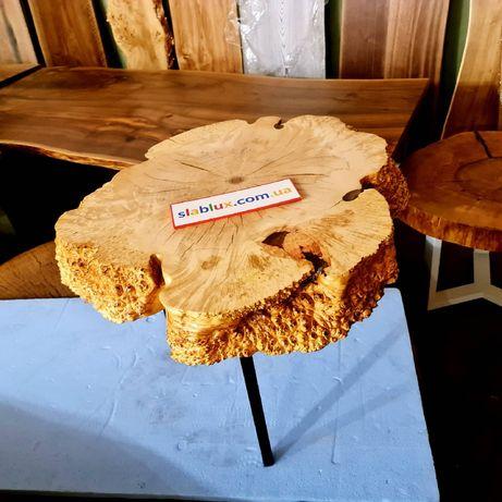 Ексклюзивні меблі з цінних порід дерева. Столи з слєба дерева