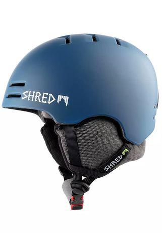 Kask Shred Slam-CAP roz S snowboard narciarski z800zł noshock Midnight