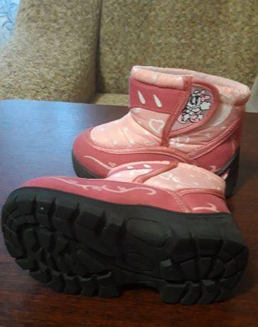 Теплые ботиночки зимние