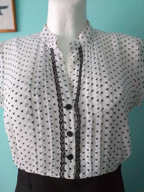 Sukienka olowkowa serduszka 42 pin up