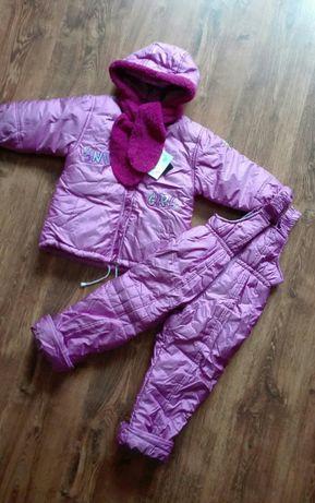 NOWY kombinezon zimowy kurtka spodnie rozmiary 86, 92, 98