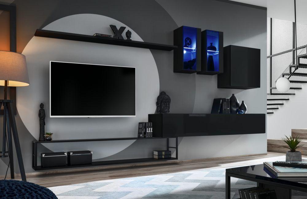 ABSOLUT 1 – meblościanka wisząca w stylu loft / bezpłatny transport