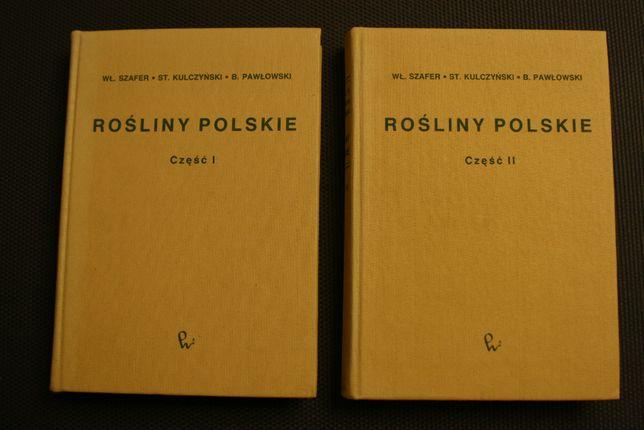 """""""Rośliny polskie"""" część 1 i 2, oprac. zbiorowe"""