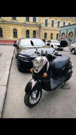 Yamaha Vino 4t ретро скутер
