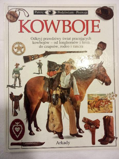Książka dla dzieci Kowboje