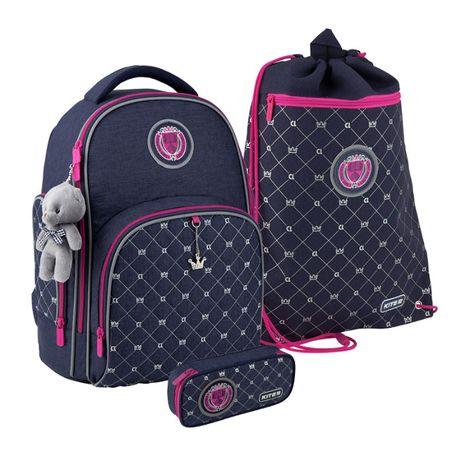 Набір рюкзак пенал сумка Kite Education College line girl K20-706M-4