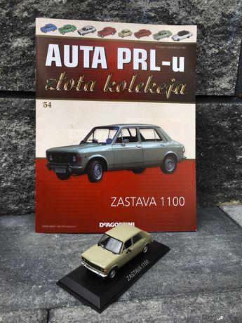 Kolekcjonerska ZASTAVA 1100-auta PRL,model,autka,resoraki,kolekcja