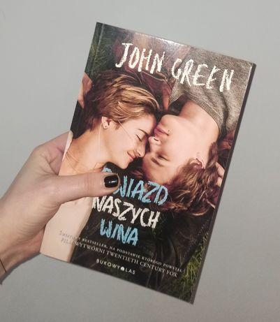 """popularna książka ze zdjęciami z filmu: """"Gwiazd naszych wina"""" J.Green"""
