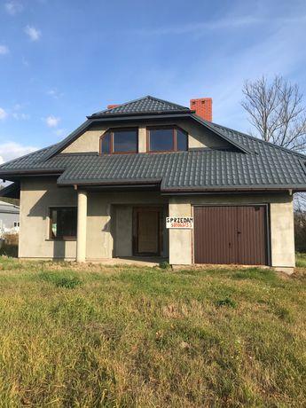 Sprzedam dom w stanie surowym 145m z działką 0,31 ha w Hryniewiczach .
