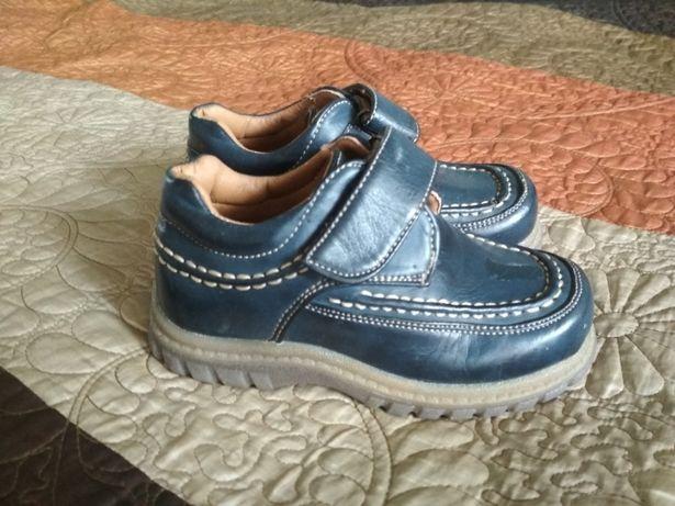 Новые кожаные туфли. Размер 30. Недорого!