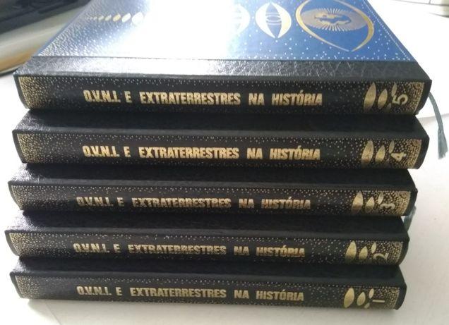 O.V.N.I. e Extraterrestres na História – Coleção de 5 Livros