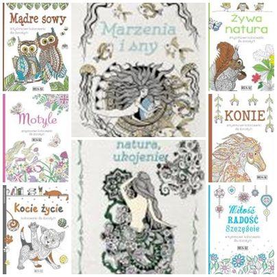 Kolorowanki dla dorosłych KONIE (3 książeczki do wyboru)