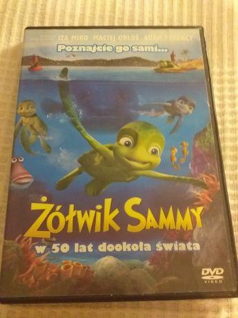 Żółwik Sammy w 50 lat dookoła świata - płyta DVD