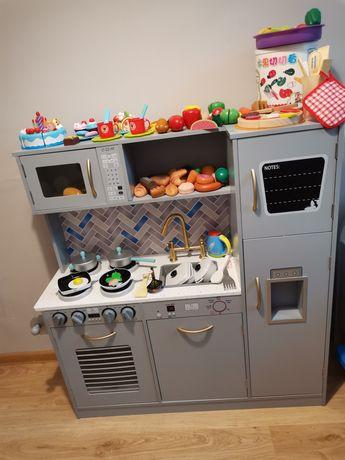 Kuchnia dziecięca duża z akcesoriami